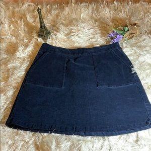 Prince & fox corduroy skirt